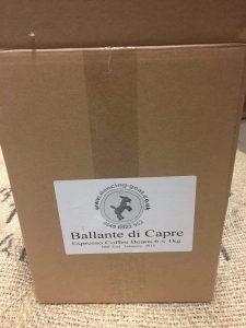 Case of Ballante di Capre Coffee by Dancing Goat Coffee