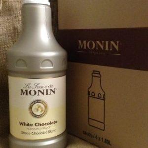 Monin White Chocolate Sauce
