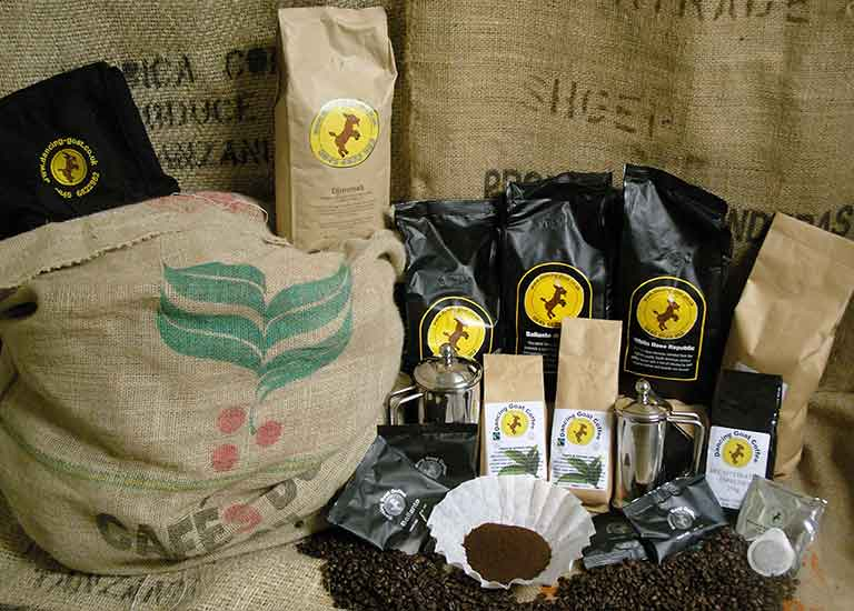 Dancing Goat Coffee Blends
