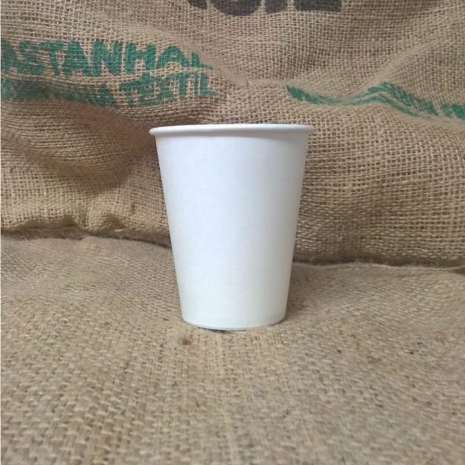 8oz White Single Wall Coffee Takeaway Cups