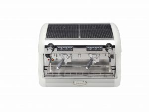 Brasilia Sofia Coffee Machine View from Top with Cup Warming and Storage Area