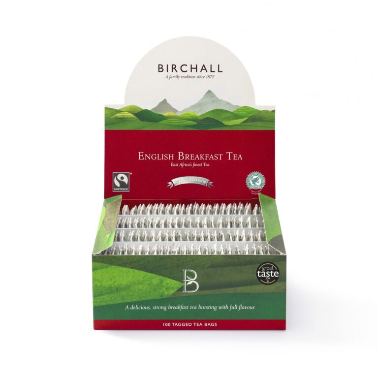 Birchall English Breakfast Tagged Tea Bags