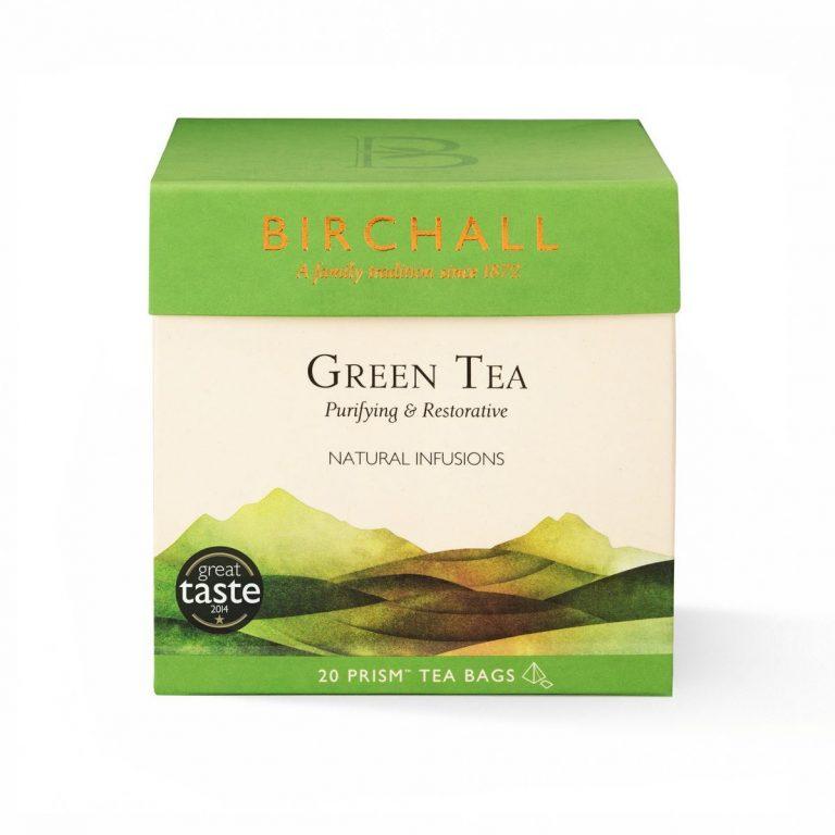 Birchall Green Tea Prism Bags