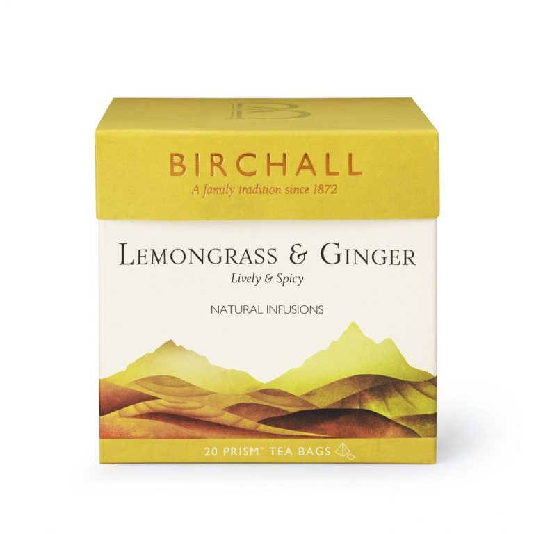 Birchall Lemongrass and Ginger Prism Bags