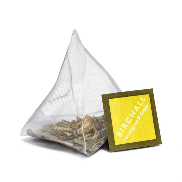 Birchall Lemongrass and Ginger Prism Tea Bag