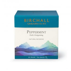 Birchall Peppermint Tea Prism Tea Bags