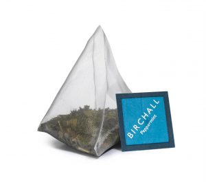 Birchall Peppermint Tea Prism Tea Bag