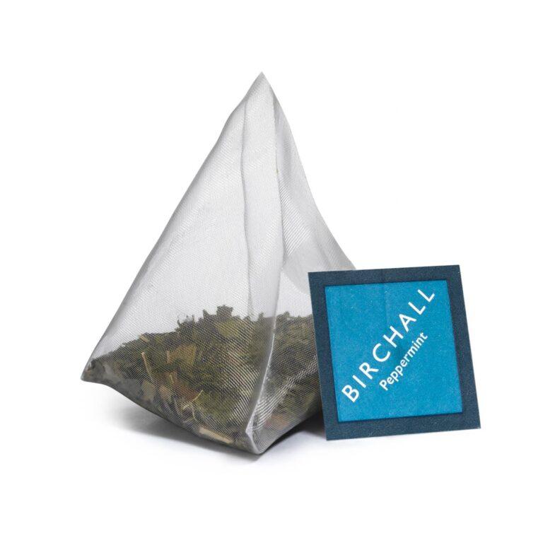 Birchall Peppermint Tea Prism Tea Bag