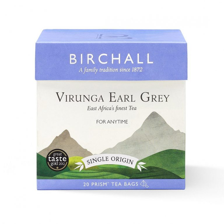 Birchall Virunga Earl Grey Prism Tea Bags