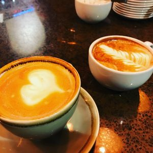 Latte Art from Dancing Goat Coffee